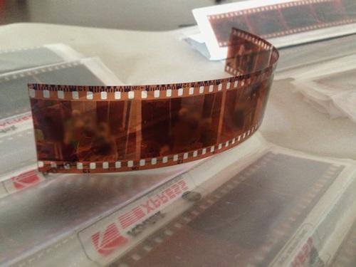 digitize old negatives