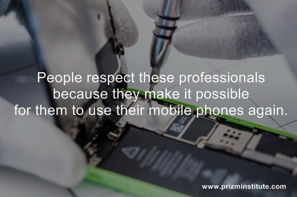 respect for mobile repairing technicians