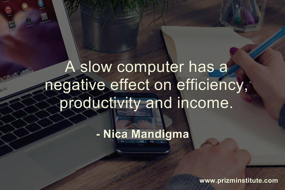 slow PC quote