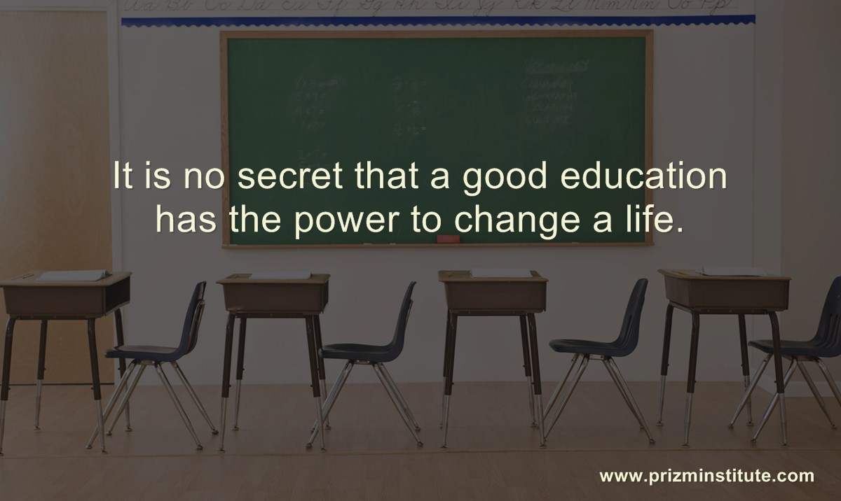 why education is important quote