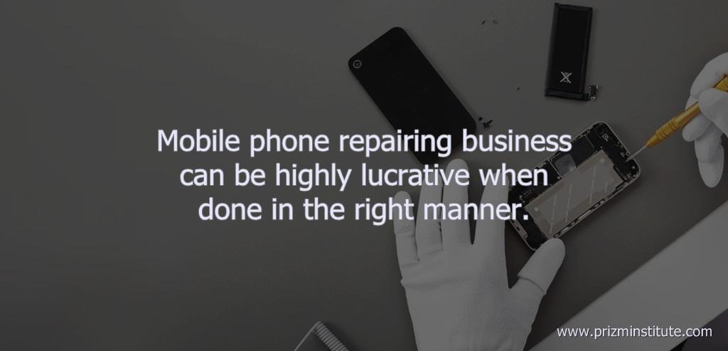 mobile repairing business profit
