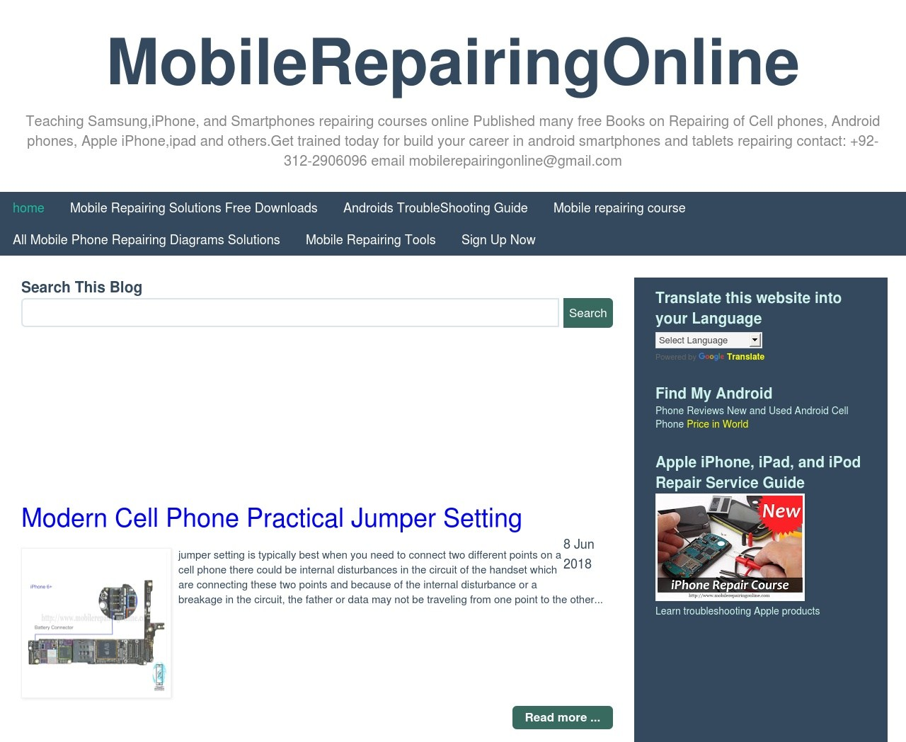 81f4e187c30297 8 Best Websites To Learn Mobile Phone Repair Online for FREE | Prizm ...