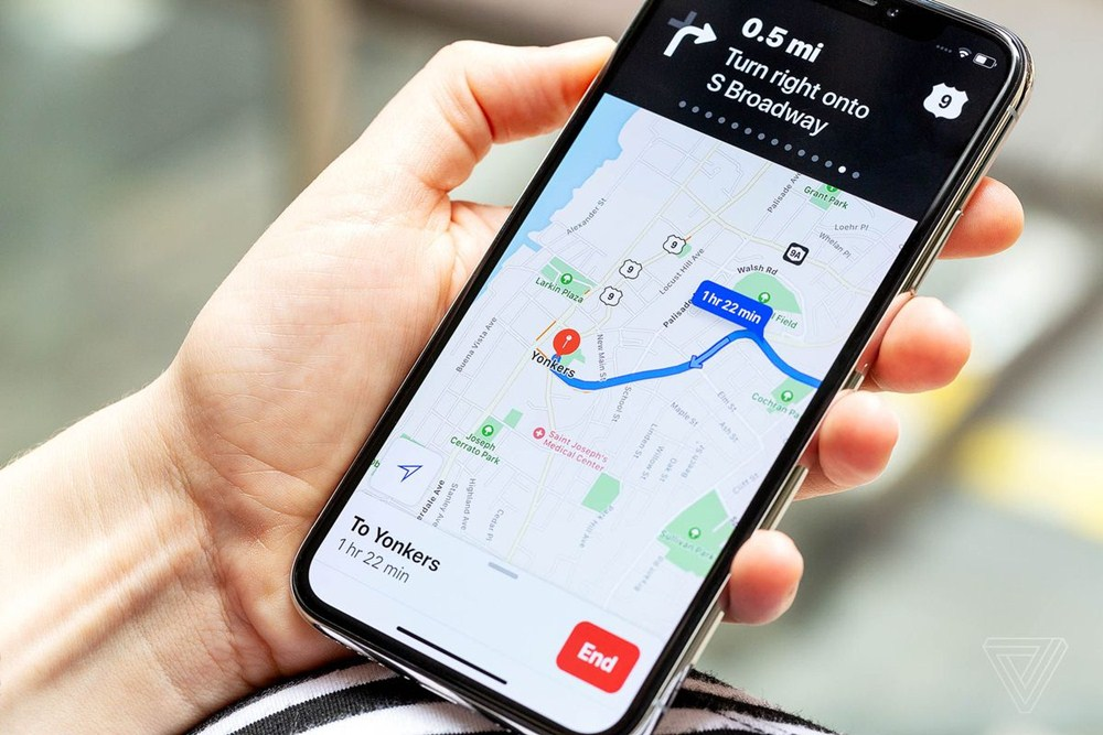 maps feature in mobile phones