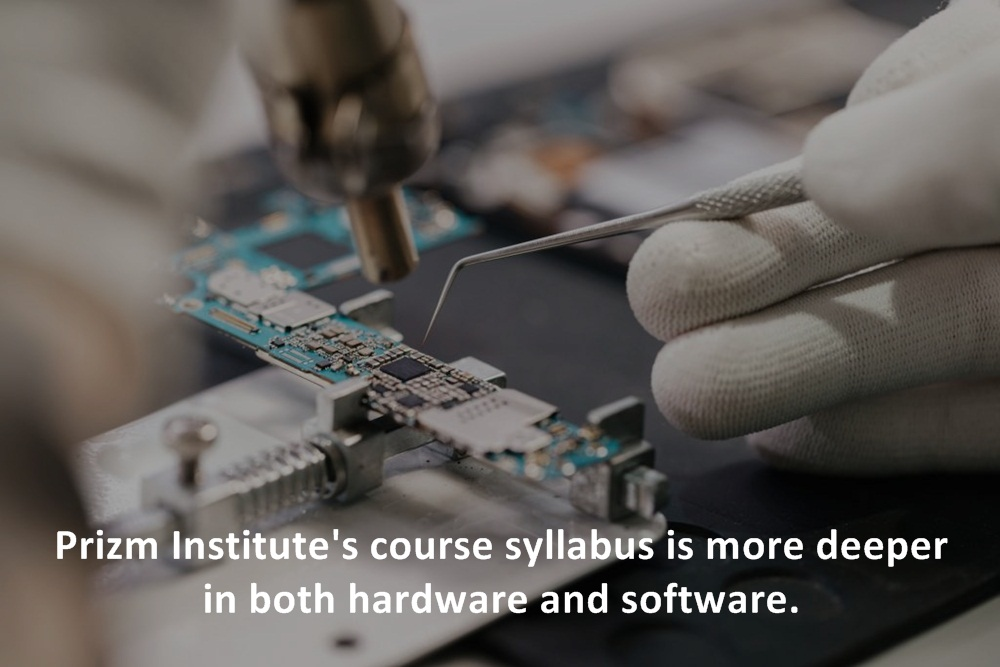 advance mobile repairing course at Prizm Institute