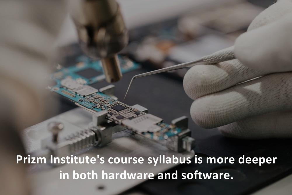 advance mobile repairing course at Prizm Institute